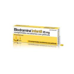 BIODRAMINA INFANTIL 25 mg...