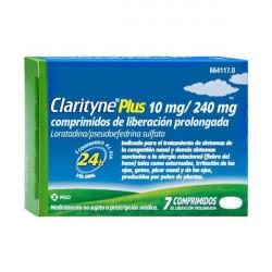 CLARITYNE PLUS 10mg/240mg...