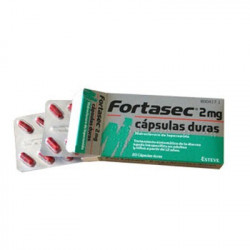 FORTASEC 2 mg capsulas duras