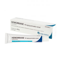 HEMORRANE 10 mg/g POMADA...