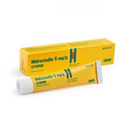 HIDROCISDIN 5 mg/g CREMA