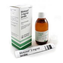 MOTOSOL 3mg/ml JARABE