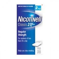NICOTINELL 2 mg CHICLE...