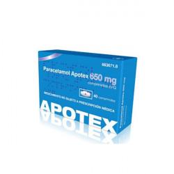 PARACETAMOL APOTEX 650 mg...