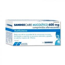 SANDOZCARE MUCOLITICO 600...