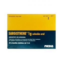 SARGISTHENE 1 g SOLUCION ORAL