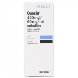 QUOCIN 120 mg/ 60 mg/ ml COLODION