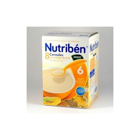 NUTRIBEN 8 CEREALES Y MIEL DIGEST BIFIDUS 600 G