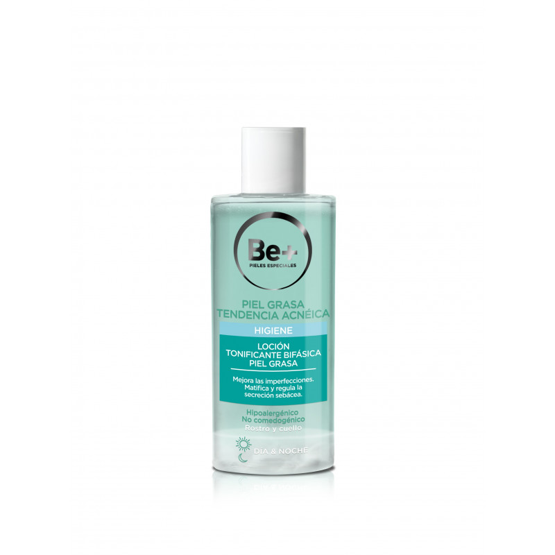 BE+ LOCION TONIFICANTE BIFASICA 200 ML
