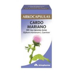 ARKOCAPSULAS CARDO MARIANO 300 mg CAPSULAS DURAS