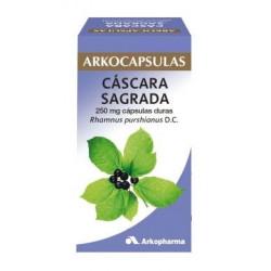 ARKOCAPSULAS CASCARA SAGRADA 250 mg CAPSULAS DURAS
