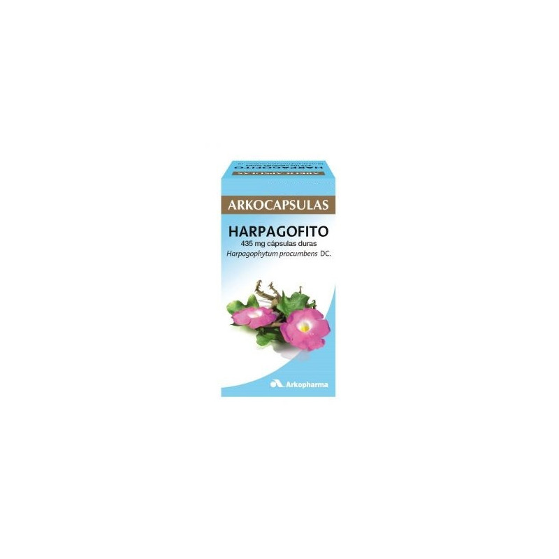 ARKOCAPSULAS HARPAGOFITO 435 mg CAPSULAS DURAS
