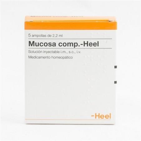 MUCOSA COMPOSITUM HEEL 5 AMPOLLAS