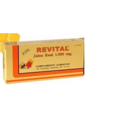 REVITAL JALEA REAL  20 AMPOLLAS