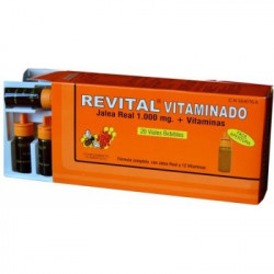 REVITAL JALEA REAL VITAMINADO 20 AMPOLLAS