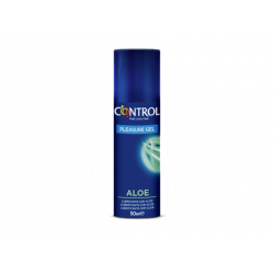 CONTROL PLEASURE GEL LUBRICANTE ALOE 50ML