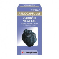 ARKOCAPSULAS CARBON VEGETAL