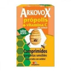 ARKOVOX PROPOLIS + VITAMINA C 20 COMP SABOR MENTA