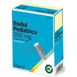 IBUDOL PEDIATRICO 200MG