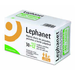 LEPHANET TOALLITAS 30U + 12 GRATIS