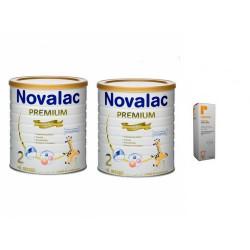DUPLO NOVALAC PREMIUM 2 + REPAVAR CREMA PAÑAL