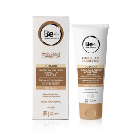 BE+ MAQUILLAJE CORRECTOR FLUIDO OIL FREE SPF20