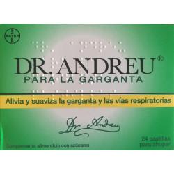 PASTILLAS DEL DR ANDREU PARA LA GARGANTA