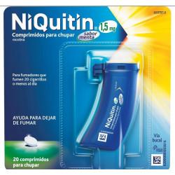 NIQUITIN 1,5 mg COMPRIMIDOS PARA CHUPAR SABOR MENTA