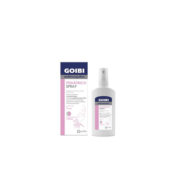 GOIBI ANTIMOSQUITOS PEDIATRICO SPRAY