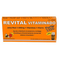 REVITAL VITAMINADO FUERTE 20 VIALES