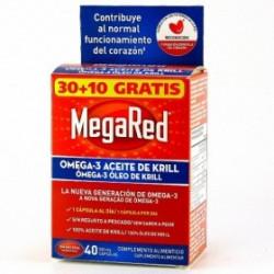 MEGARED OMEGA 3 30 CAPSULAS + 10 GRATIS