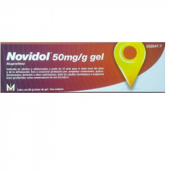 NOVIDOL 50MG/G GEL 60G