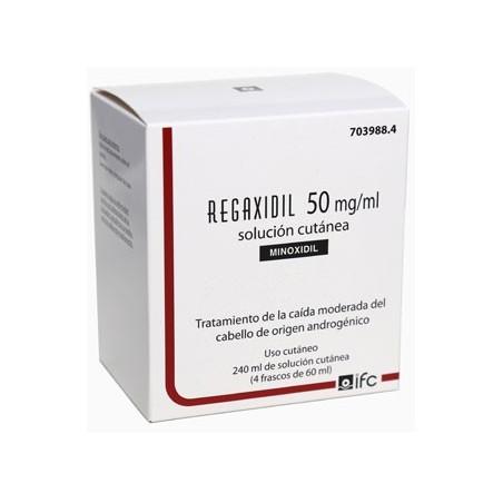 REGAXIDIL 50 mg/ml SOLUCION CUTANEA