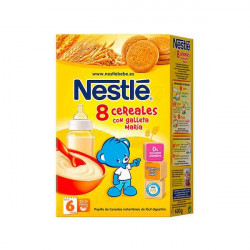 NESTLE 8 CEREALES GALLETA 600G 600 G