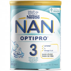 NAN 3 OPTIPRO LECHE 800G
