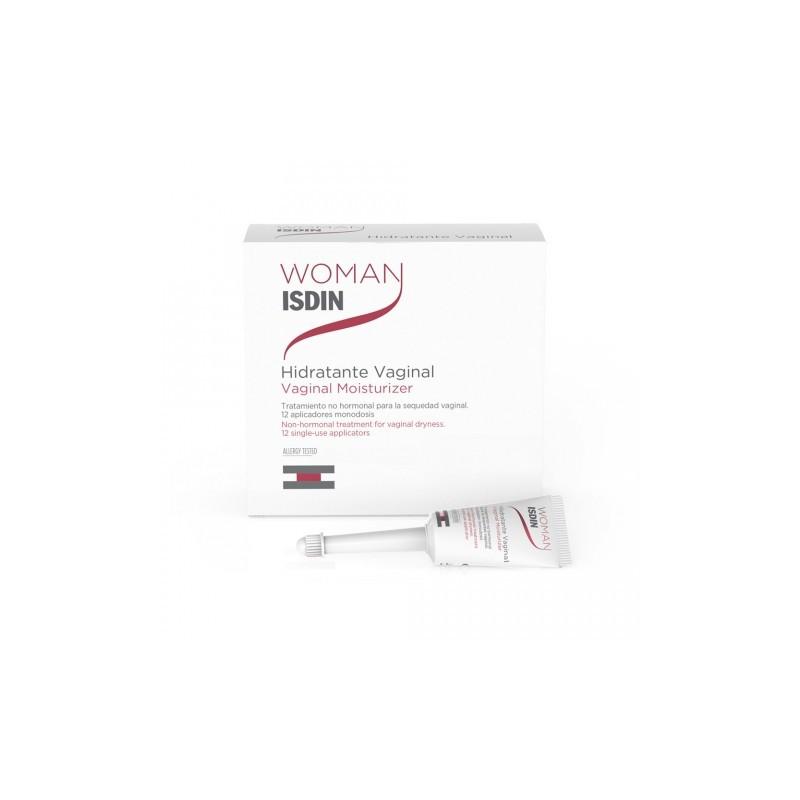 WOMAN ISDIN HIDRATANTE VAGINAL 12 MONODOSIS