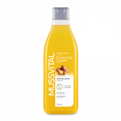 MUSSVITAL ESSENCIALS GEL DE BAÑO ACEITE DE ARGAN 750 ML
