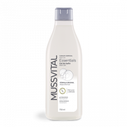 MUSSVITAL ESSENCIALS GEL DE BAÑO ORIGINAL 750 ML