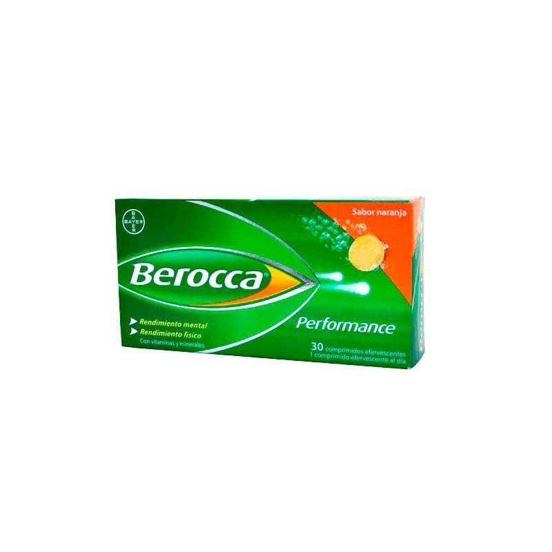 BEROCCA PERFORMANCE SABOR NARANJA 30 COMPRIMIDOS EFERVESCENTES