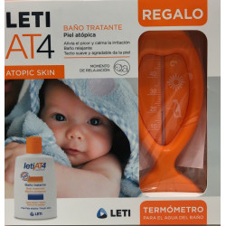 LETI AT-4 BAÑO TRATANTE  200 ML + REGALO TERMOMETRO DE AGUA