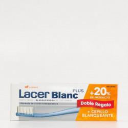LACER PASTA BLANC PLUS + 25ML + CEPILLO DENTAL REGALO