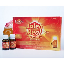 JUANOLA JALEA REAL PLUS ENERGY 1500MG 14 VIALES
