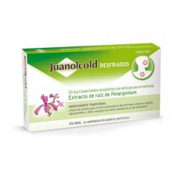 JUANOLCOLD RESFRIADOS 20MG 30 COMPRIMIDOS RECUBIERTOS