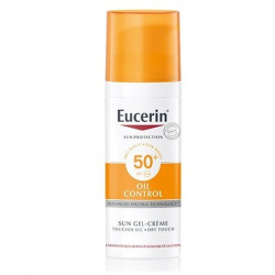 EUCERIN SUN PROTECTION 50+ FPS GEL-CREMA OIL CONTROL 50ML