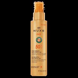 NUXE SUN SPRAY FUNDENTE SPF50 ROSTRO Y CUERPO 150ML
