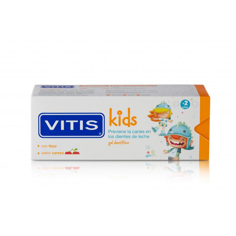 VITIS KIDS GEL DENTIFRICO SABOR CEREZA 50ML