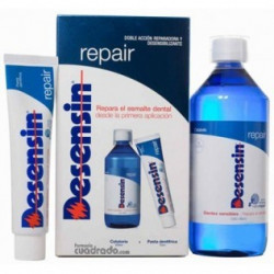 PACK DESENSIN REPAIR COLUTORIO 500ML + PASTA DENTAL 75ML