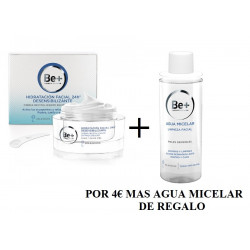 BE+ PACK CREMA HIDRATACION FACIAL 24H 50ML + AGUA MICELAR 200ML