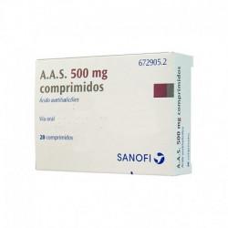 A.A.S. 500 mg COMPRIMIDOS