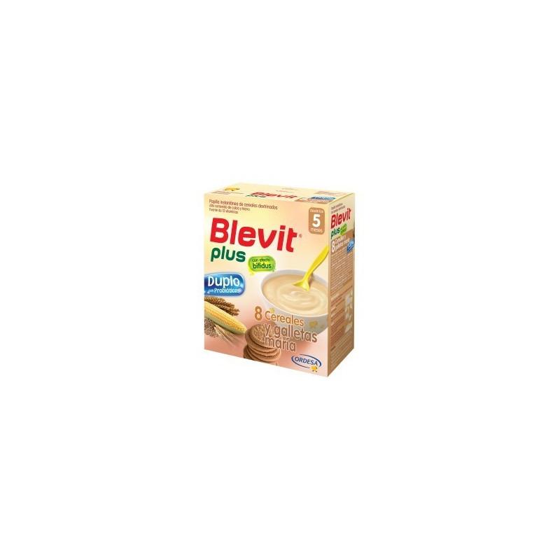 BLEVIT PLUS DUPLO 8 CEREALES Y GALLETAS  DUPLO 600 G